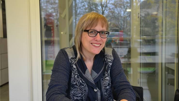 Sie engagiert sich seit rund sieben Jahren für den Verein insieme: Sandra Näf.fmj