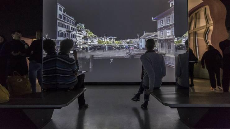 Medienkonferenz zu der Ausstellung «Einfach Zürich» im Landesmuseum, welech am 2. Februar 2019 eröffnet wird. Aufgenommen am 31. Januar 2019 im Landesmuseum Zürich.