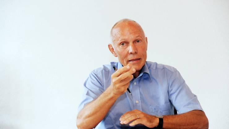 Gemeindeammann Max Läng hört Ende 2013 auf.