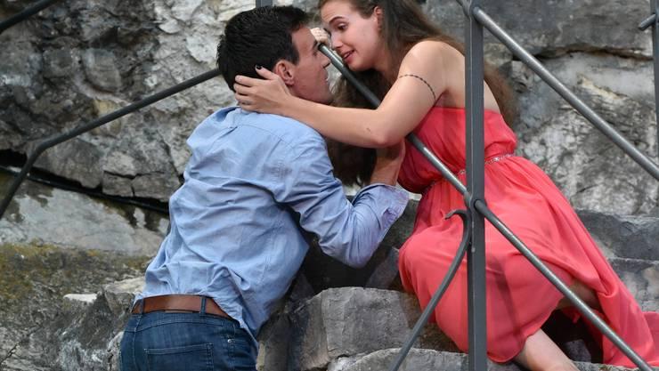 Julia (Jamie Mahlstein) und Romeo (Lorenzo Pedrocchi).