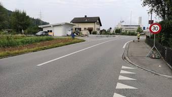 Für ein kurzes Teilstück gilt auf der Ringstrasse bereits Tempo 30.