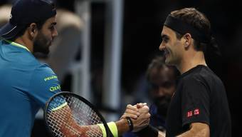 Berrettini - Federer ATP Finals 2019