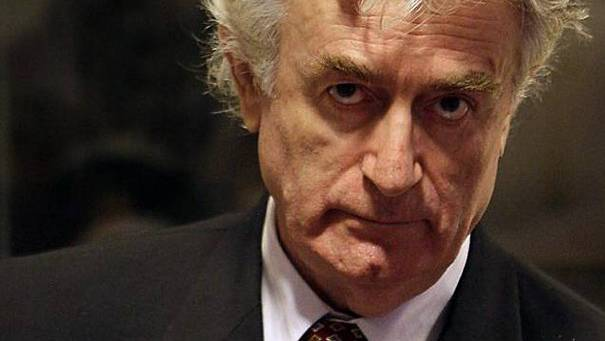 Der frühere Serbenführer in Bosnien - Radovan Karadzic.
