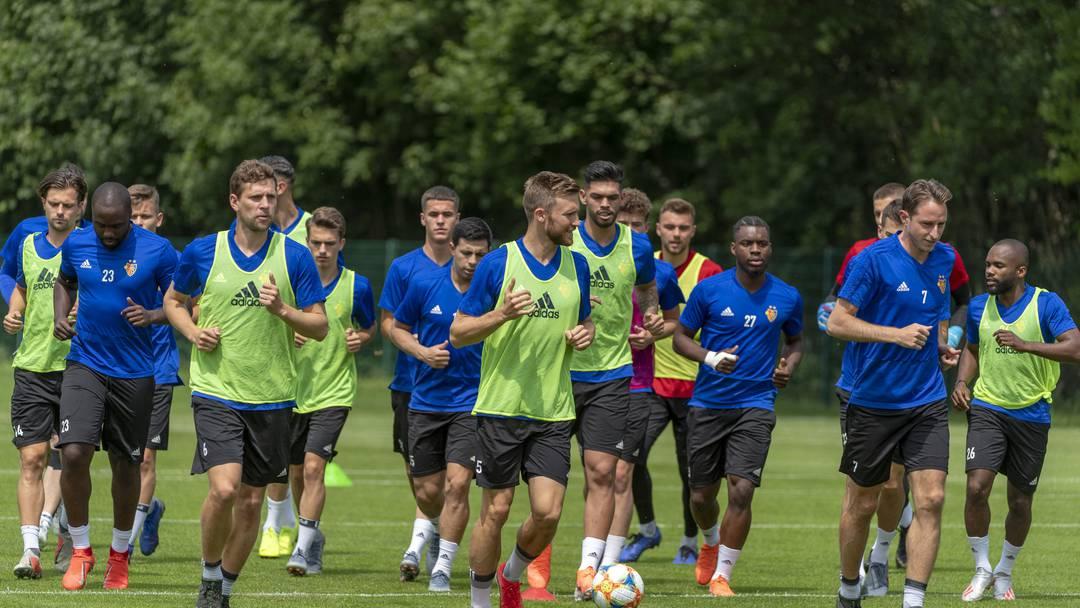 Trainingsauftakt beim FC Basel