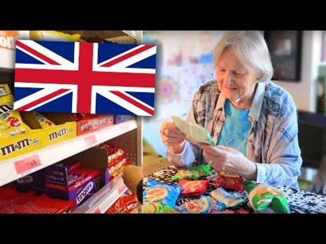 Englische Oma
