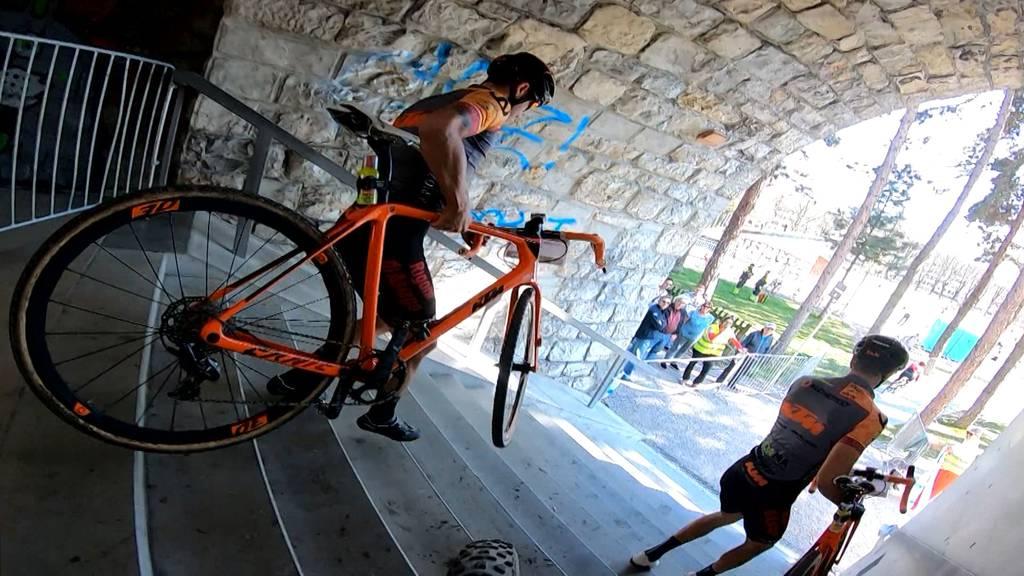 Urban Cyclocross: Radquer mitten durch Zürich