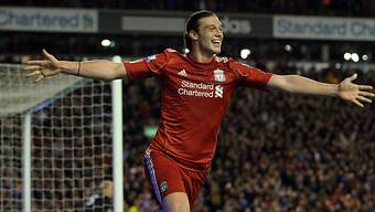 Andy Carroll traf erstmals für Liverpool