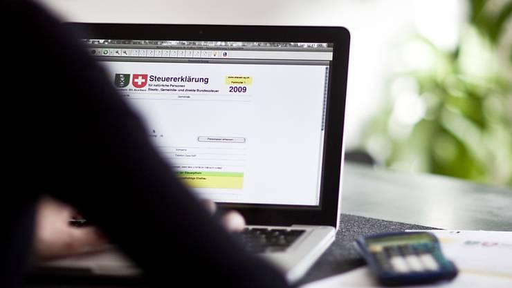 Die elektronische Steuererklärung steht juristischen Personen bisher nicht zur Verfügung. (Symbolbild)