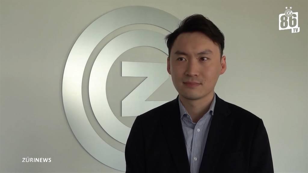 Chinesischer GC-Präsident Sky Sun erstmals in Zürich