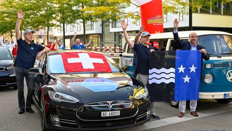 Gelungenes Debüt an der Wave Trophy: Aargauer Team belegt den zweiten Platz