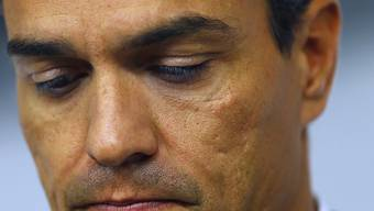 Den Rückhalt in der eigenen Partei verloren: der zurückgetretene spanische Sozialisten-Chef Pedro Sánchez.