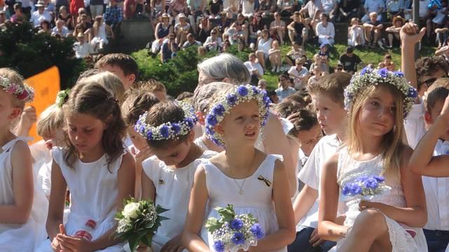 «Was ist für euch das Schönste am Jugendfest?» Ausschnitte aus der Festrede. Und natürlich: Das Bruggerlied.