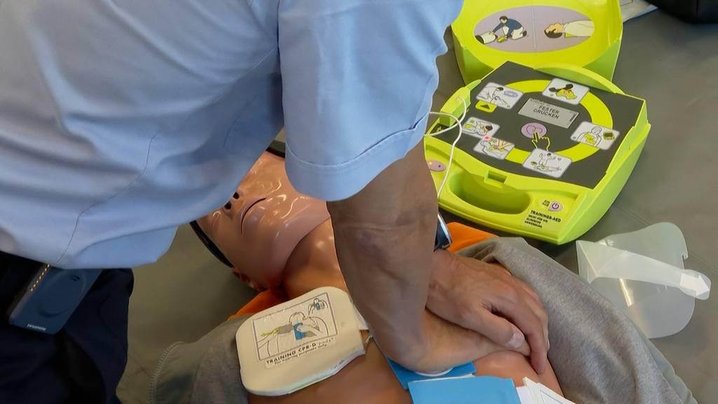 Neue Online-Karte zeigt Defibrillator-Standorte