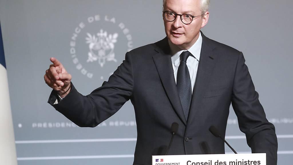 Frankreich fordert «sparsame Vier» vor Gipfel zum Einlenken auf