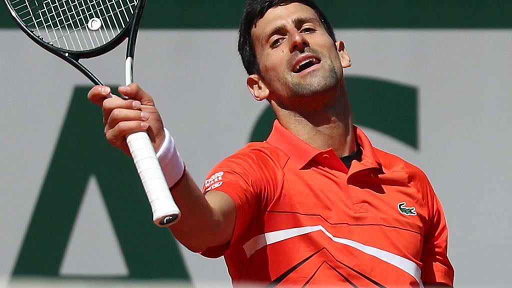 Novak Djokovic scheiterte im Halbfinal in fünf Sätzen