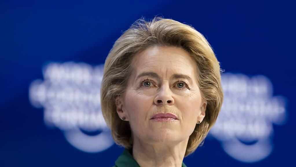 Multilateralismus statt Abschottung: EU-Kommissionspräsidentin Ursula von der Leyen appellierte in ihrer Rede am WEF an die Weltgemeinschaft, die globalen Probleme gemeinsam zu lösen.