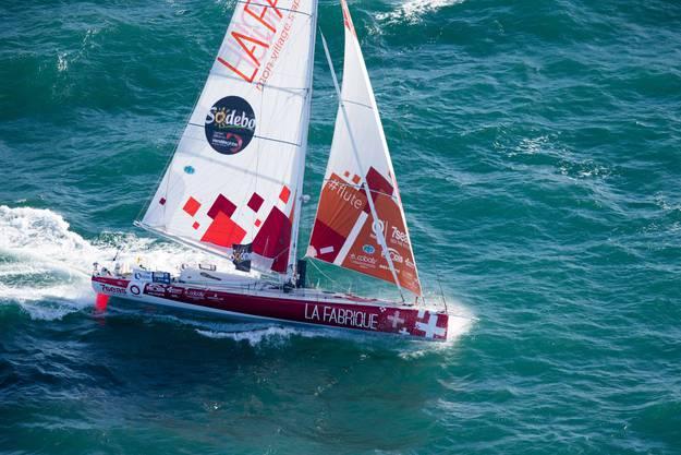 Eine knappe Million hat Roura für das Occasion-Boot bezahlt, mit dem er am 8. November 2020 ins härtestes Segelrennen der Welt starten wird.