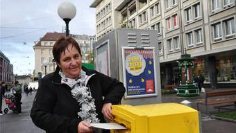 Taxifahrerin Rita Taschner hofft, dass die Basler Stimmbürger gegen das Taxigesetz stimmen.
