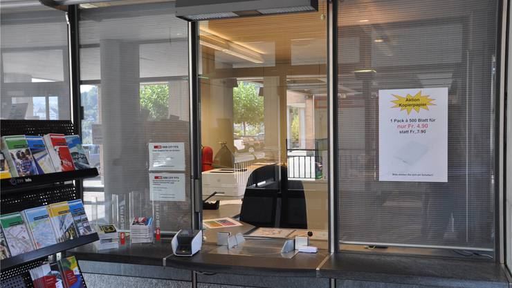 Das Birmensdorfer Reisebüro Skyways hat bisher den SBB-Schalter betrieben. Ende 2017 ist damit Schluss. DEG