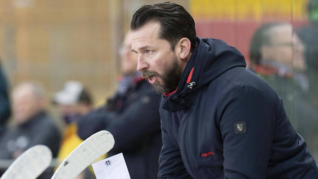 Letzte Saison Headcoach in Biel, nun mit Olten an der Spitze der Swiss League: Lars Leuenberger