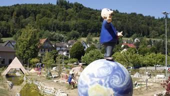 Papa Moll wird auf der Minigolf-Anlage bald wieder Gäste begrüssen können. (Archiv)