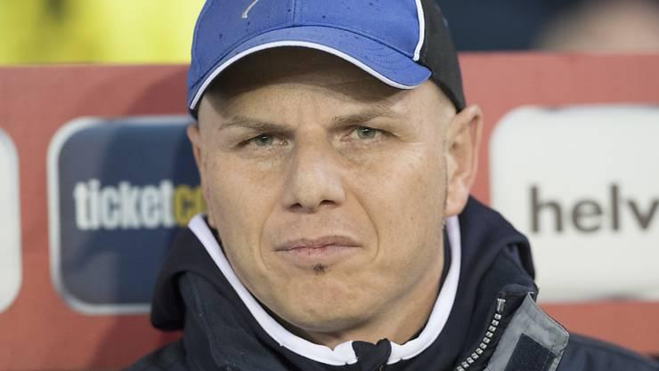 Umberto Romano scheiterte mit dem FC Winterthur bereits in der 2. Runde