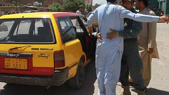 Sicherheitskontrolle in Afghanistan
