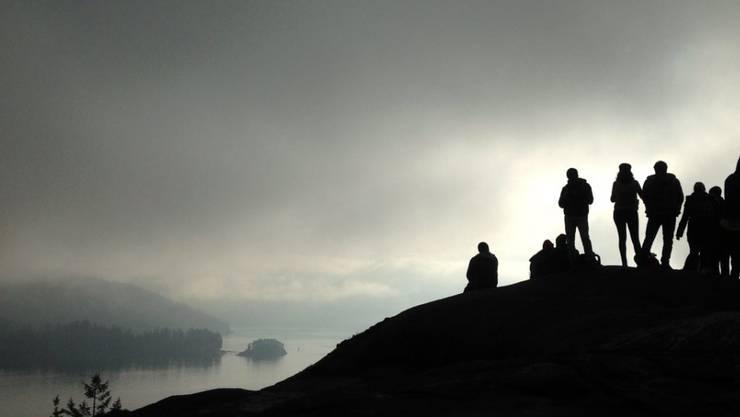 Fünf Wanderer aus Südkorea sind bei einem Lawinenunglück in Kanada in der Nähe der Stadt Vancouver ums Leben gekommen. (Archivbild von Nord-Vancouver)