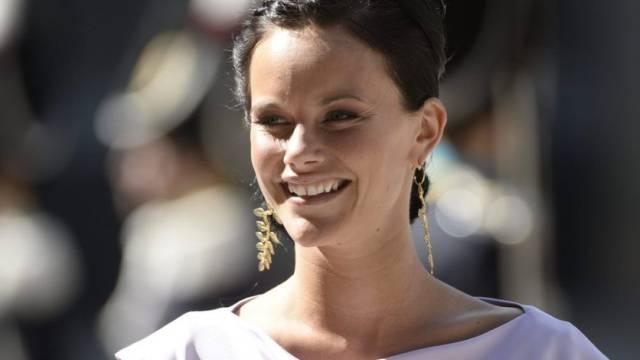 So sieht eine künftige Prinzessin aus: Sofia Hellqvist (Archiv)