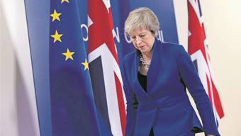 Premierministerin Theresa May am Brexit-Sondergipfel in Brüssel.Sean Gallup/Getty