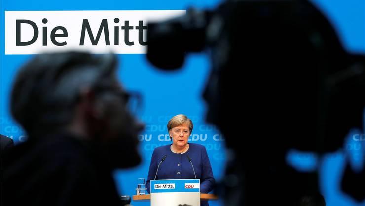 Wer kommt nach ihr? Angela Merkel gibt den CDU-Parteivorsitz ab.F. TRUEBA/EPA/KEY