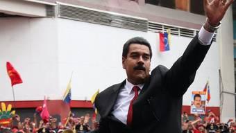 Venezuelas neuer Präsident Maduro trifft zur Vereidigung in Caracas ein