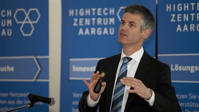 Martin A. Bopp ist Geschäftsführer des Hightech-Zentrum Aargau: «Die beste und innovativste Idee verpufft, wenn sie nicht in ein marktfähiges Produkt umgesetzt wird.» (Archiv)
