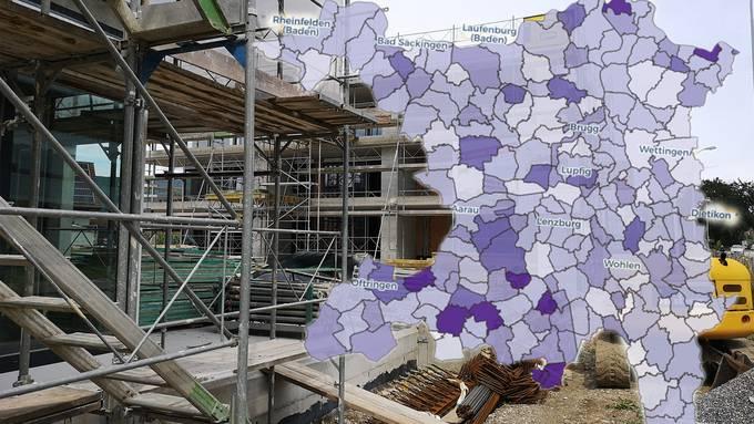 Der Leerwohnungsbestand im Kanton Aargau steigt weiter um über 4 Prozent.