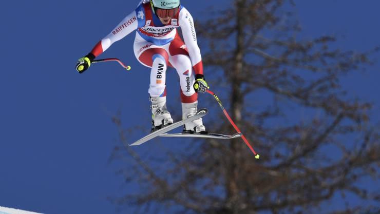 Wendy Holdener verliert in der Kombi-Abfahrt 1,47 Sekunden auf Brignone