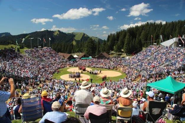 12500 Zuschauer am Schwägalp-Schwinget
