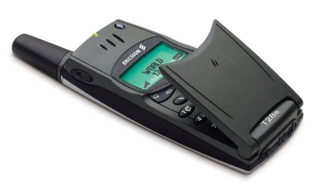 Klappbar war ultracool - das Sony Ericsson T28s. (Bild: computerbild.de)