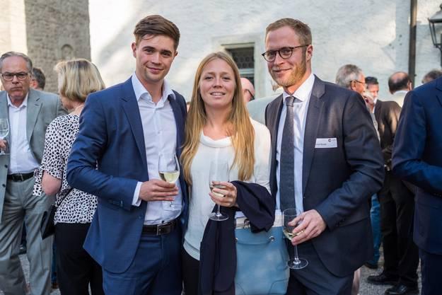Florian Wanner (links), Anna Wanner, Michael Wanner