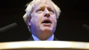 Boris Johnson wird seinen Hut in den Ring um die Nachfolge der britischen Premierministerin Theresa May werfen. Das bestätigte er am Swiss Economic Forum (SEF) in Interlaken. (Archiv)