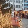 Böögg trifft auf Weihnachtsmarkt