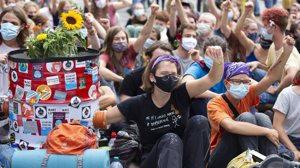 Klimabewegung will abgesagten Streik im Frühling nachholen