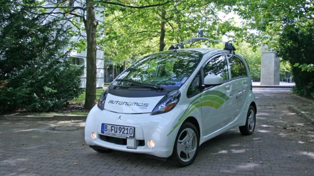 Swisscom testet ein selbstfahrendes Auto