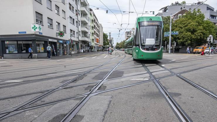 BVB Kreuzungen müssen saniert werden. Burgfelderplatz