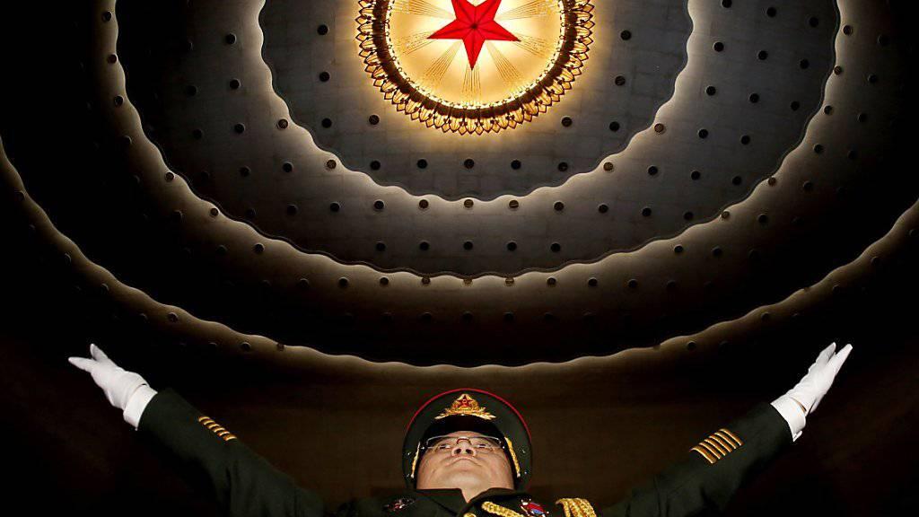 Vor der Eröffnung des 12. Volkskongresses in China ist bereits klar: Das Land will im kommenden Jahr erneut mehr Geld für die Armee bereitstellen.