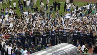Die FCZ-Fans feierten trotzdem