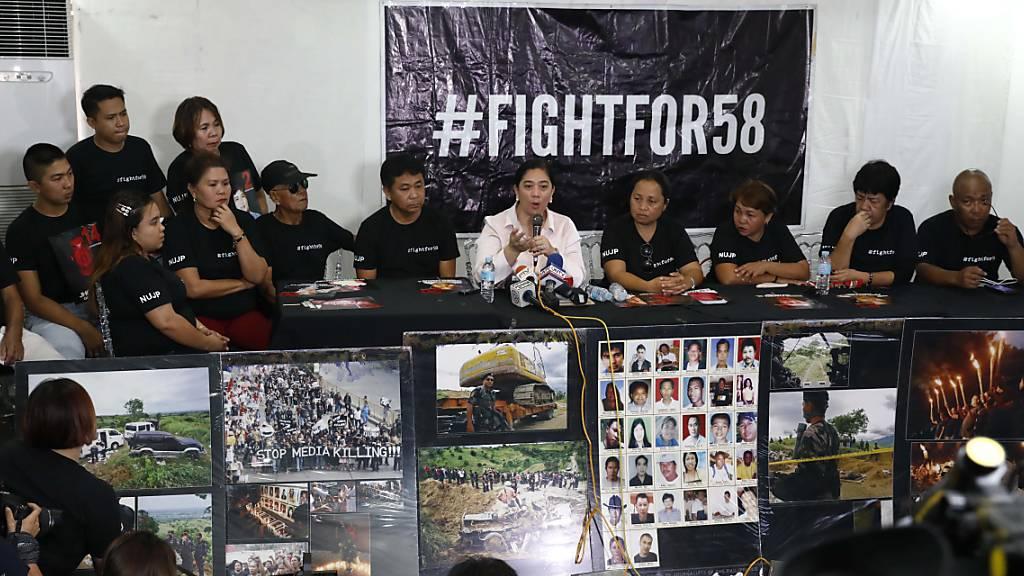 Lange Haftstrafen für Drahtzieher des Massakers auf den Philippinen