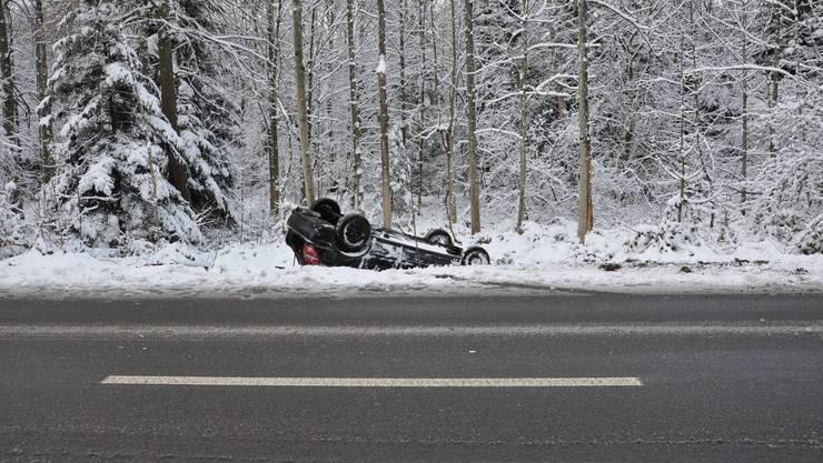 In Rüttenen kam es auf der Oberen Steingrubenstrasse zu einem Verkehrsunfall.