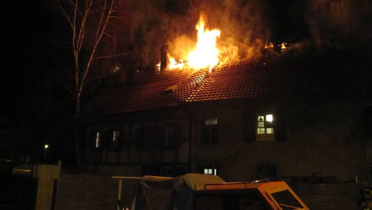 Keine Verletzten Aber Hoher Sachschaden Nach Brand In Oftringen