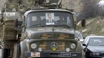 Ein Lastwagen der syrischen Armee (Archiv)