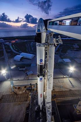 Ein Platz für einen Astronauten hier drin kostet «nur» 50 Millionen Dollar.